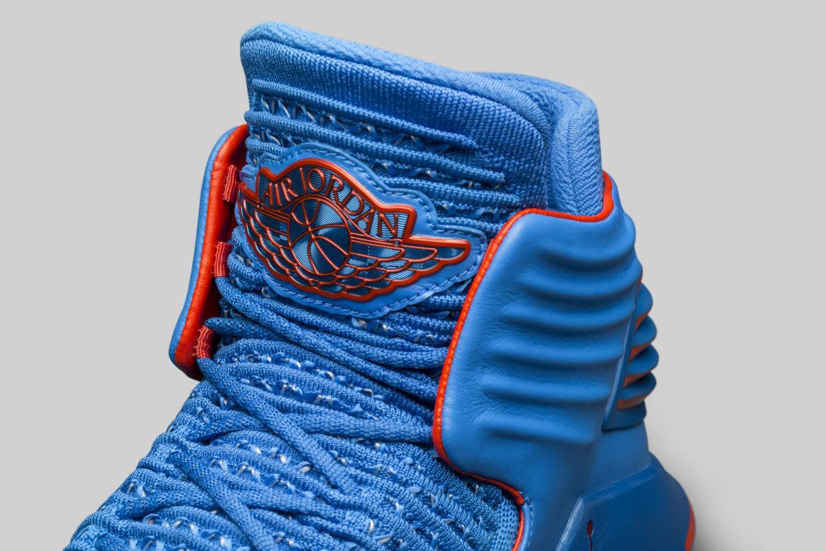33d127f5c225 ... footwear Air Jordan 32 Russell Westbrook Why Not PE Release Date Tongue  AA1253-400 ...