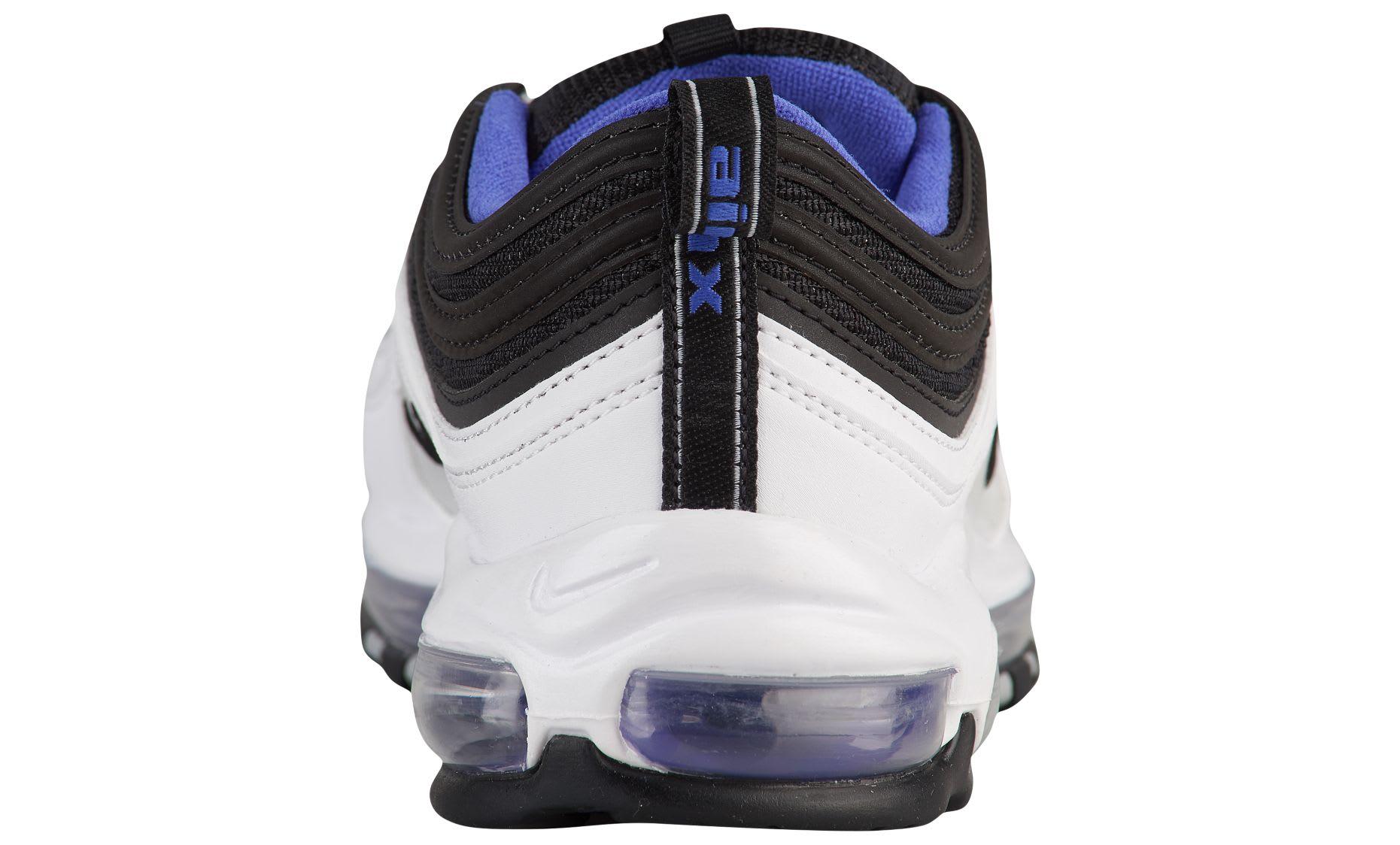 Nike Air Max 97 'White/Black/Persian Violet' 921826-103 (Heel)