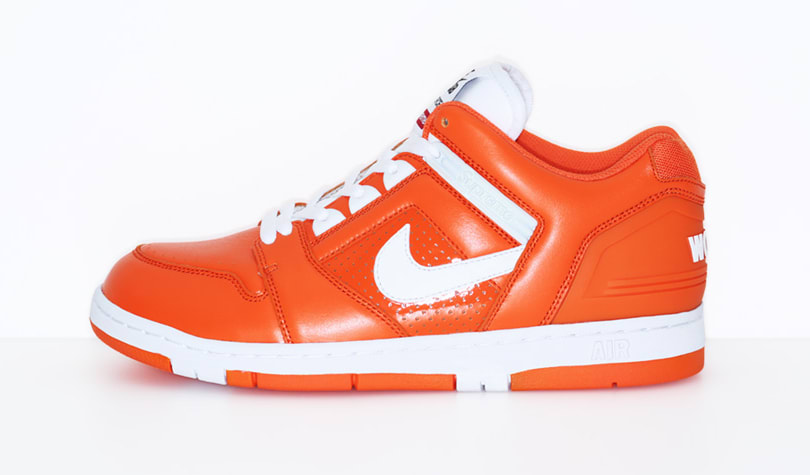 Supreme Nike SB Air Force 2 Orange