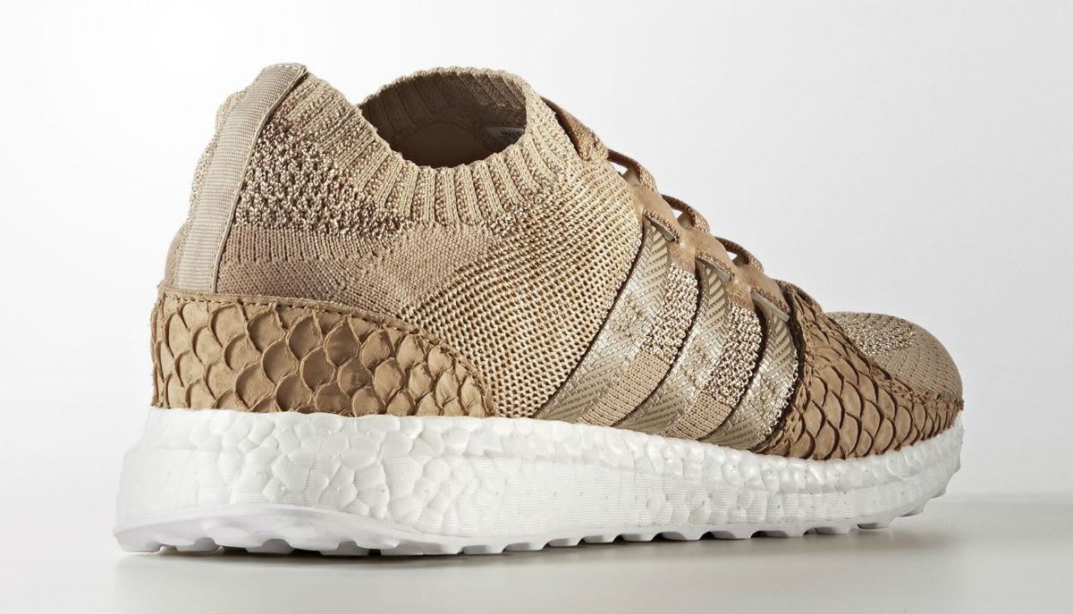 Pusha T x Adidas EQT Support Ultra Primeknit Brown Paper Bag Release Date DB0181 Lateral