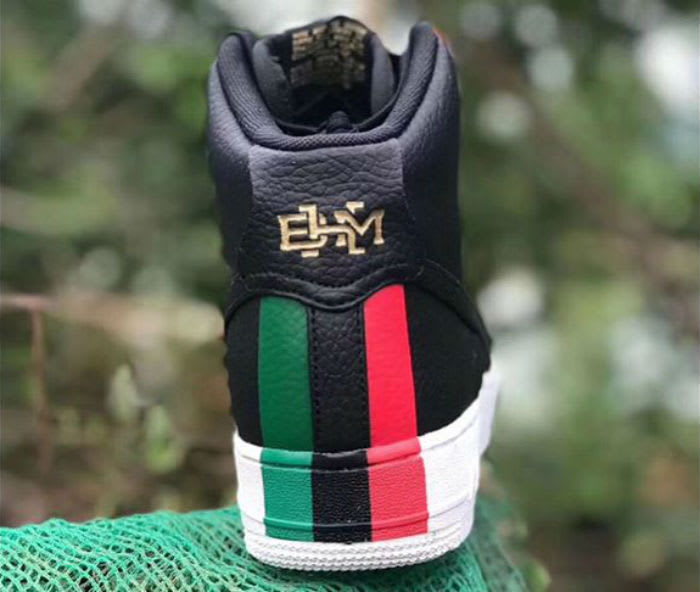 BHM Nike Air Force 1 High 2018 Release Date Heel