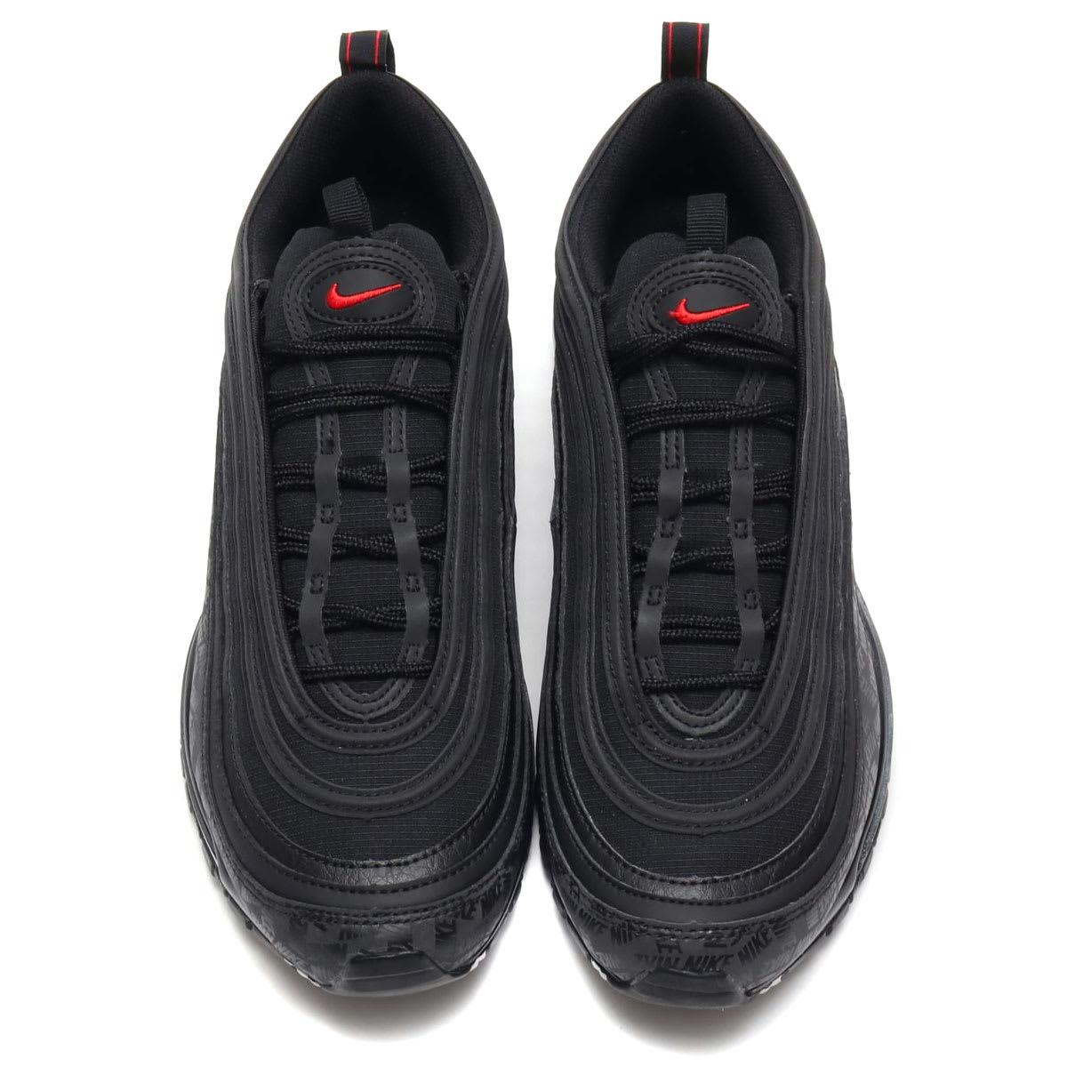 Nike Air Max 97 Black/University Red-Black AR4259-001 (Top)