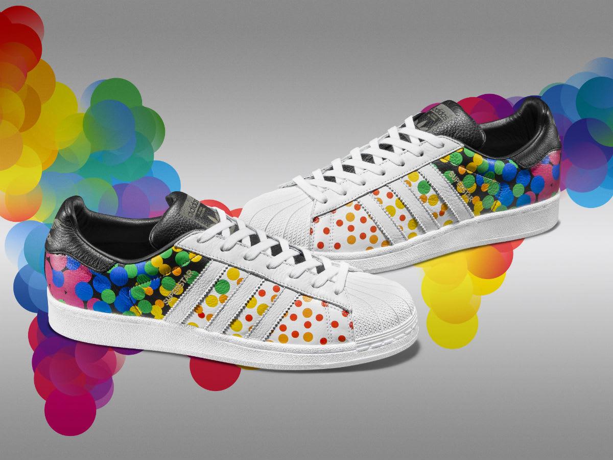 Gay Pride Mens Rainbow Shoes
