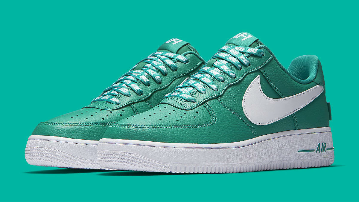 Nike Air Force 1 Low NBA Statement Game Green Release Date 823511 302