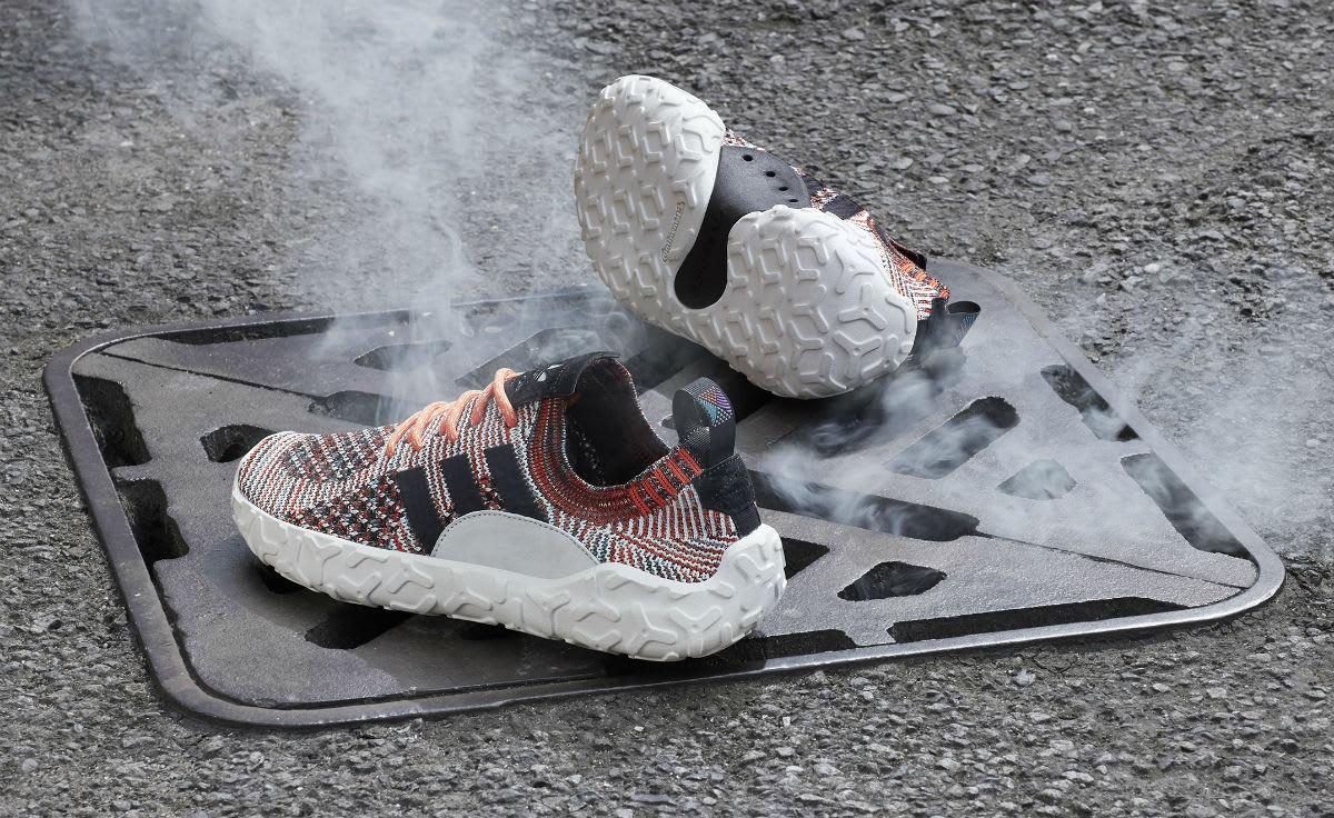 Adidas Atric F/22 Primeknit Trace Orange Release Date CQ3026 Smoke
