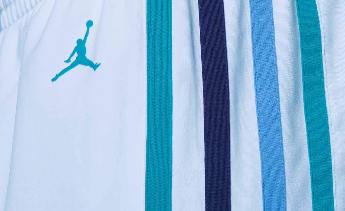 Jordan Hornets Jersey Home Association Shorts