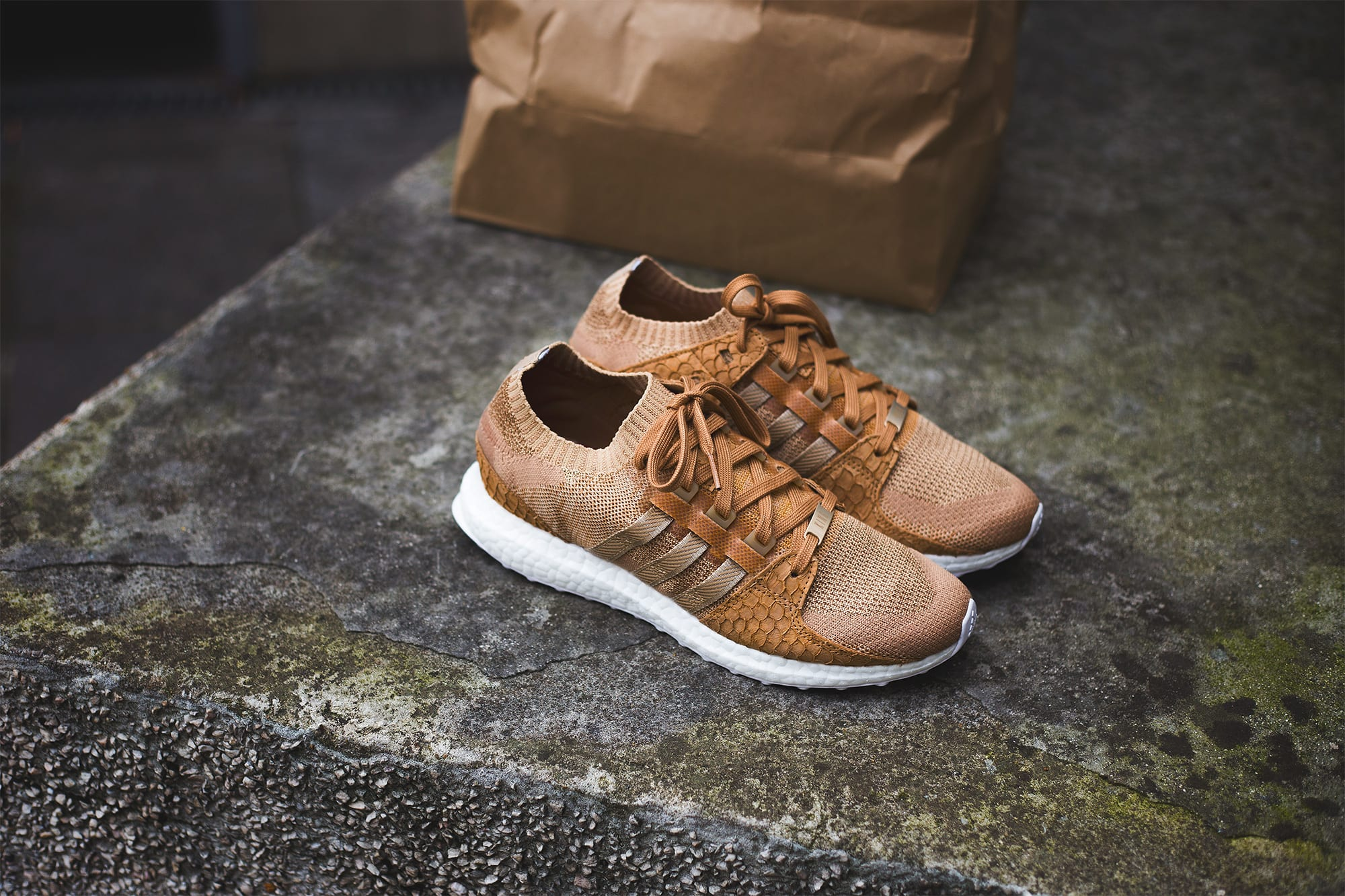 Pusha T x Adidas EQT Support Ultra Brown Paper Bag Release Date Right