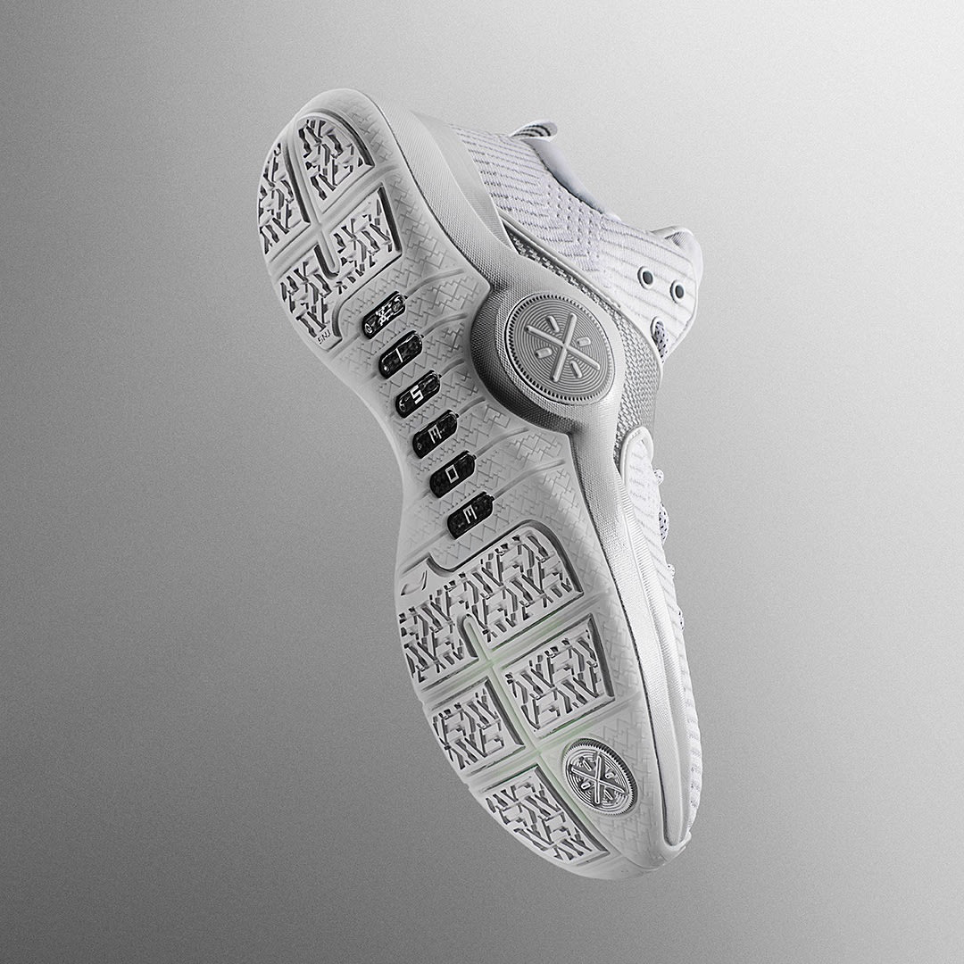 Li-Ning Way of Wade 6 White Release Date Sole
