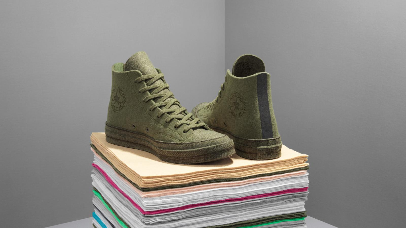 JW Anderson x Converse Chuck 70 Felt 'Olive' (Pair)