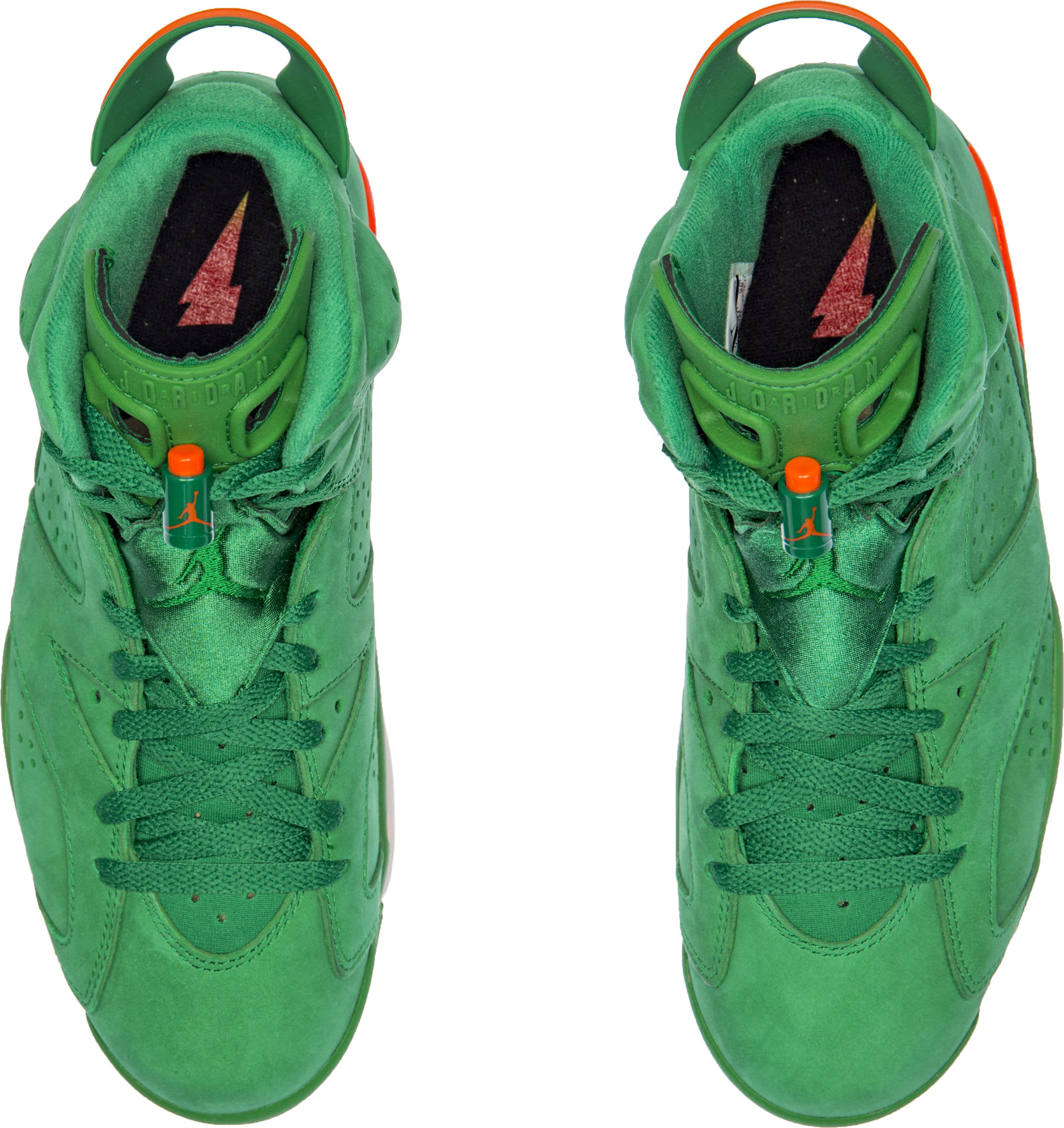 Air Jordan 6 VI Gatorade Green Release Date AJ5986-335 Top