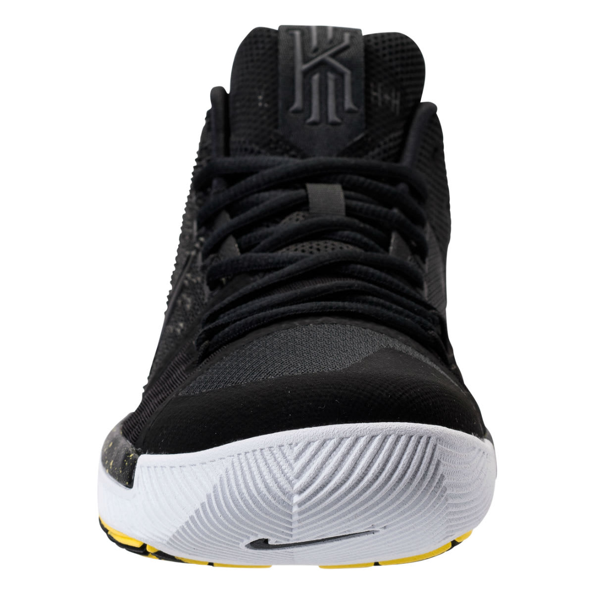 f9999e31f3ca ... new style nike kyrie 3 black yellow release date front 852395 901 01856  f28f9