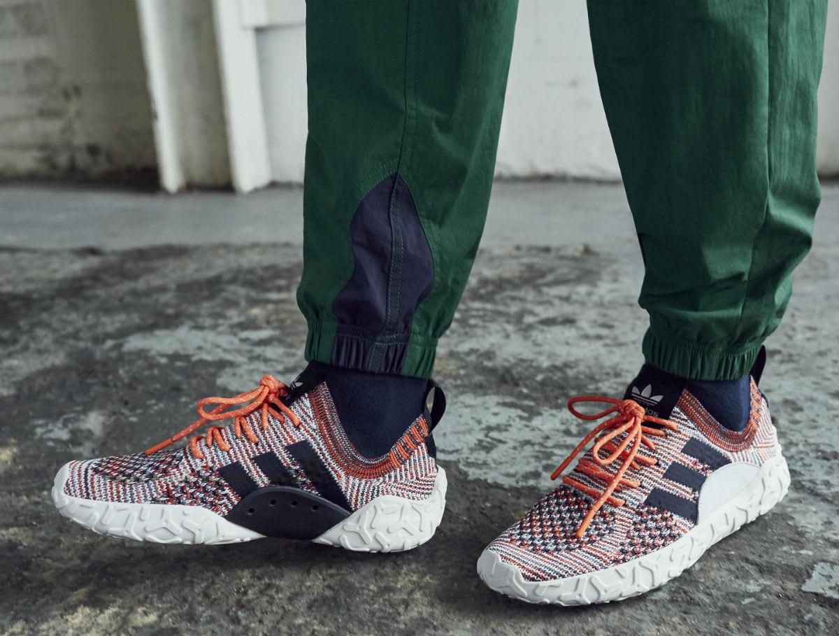 Adidas Atric F/22 Primeknit Trace Orange Release Date CQ3026 Medial