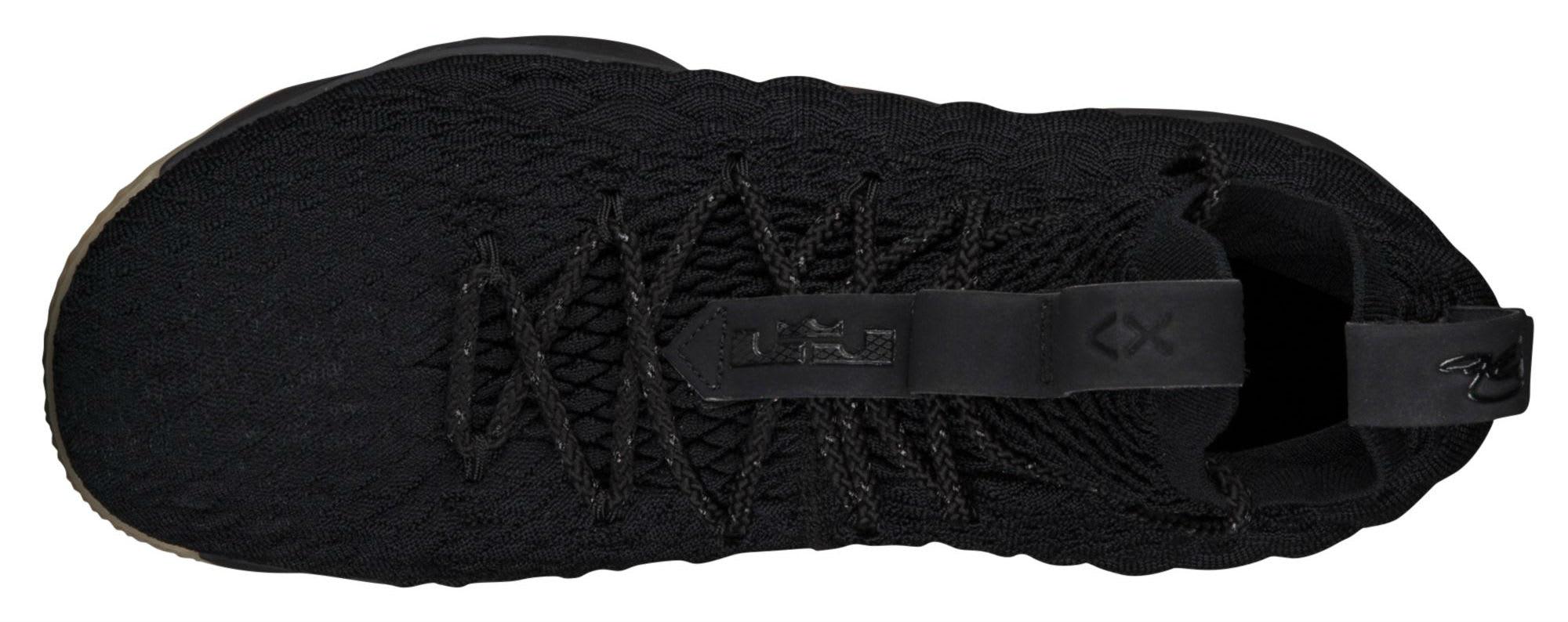 017853f4c4b0 ... Nike LeBron 15 Black Gum Release Date 897648-300 Top ...