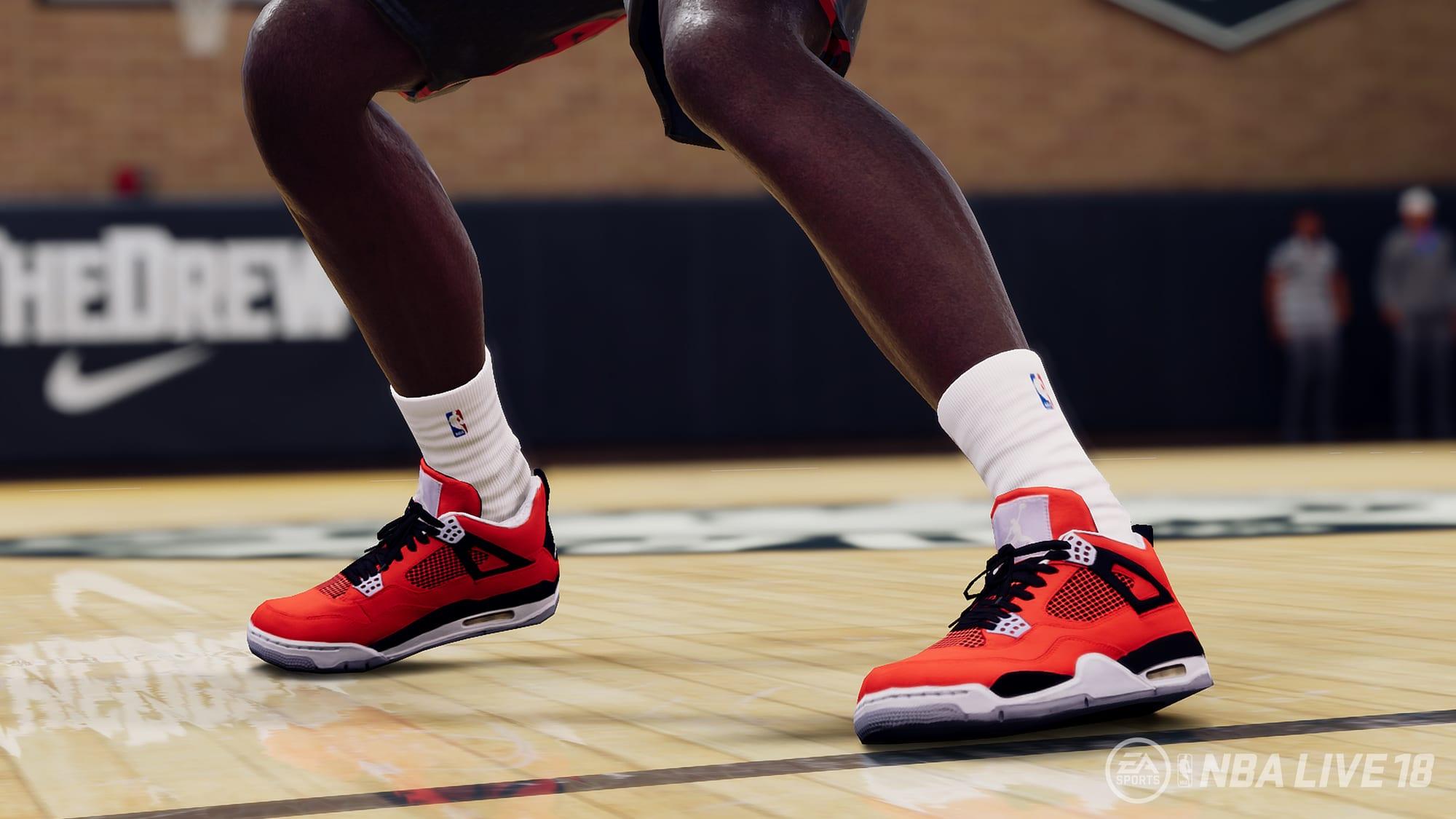 Jordan 4 NBA Live 18