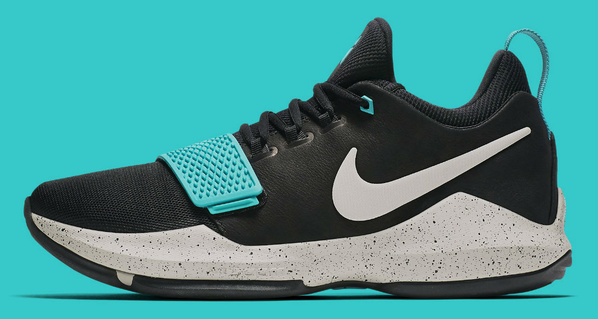 Nike PG 1 Black Light Bone Light Aqua Release Date Profile 878628-002