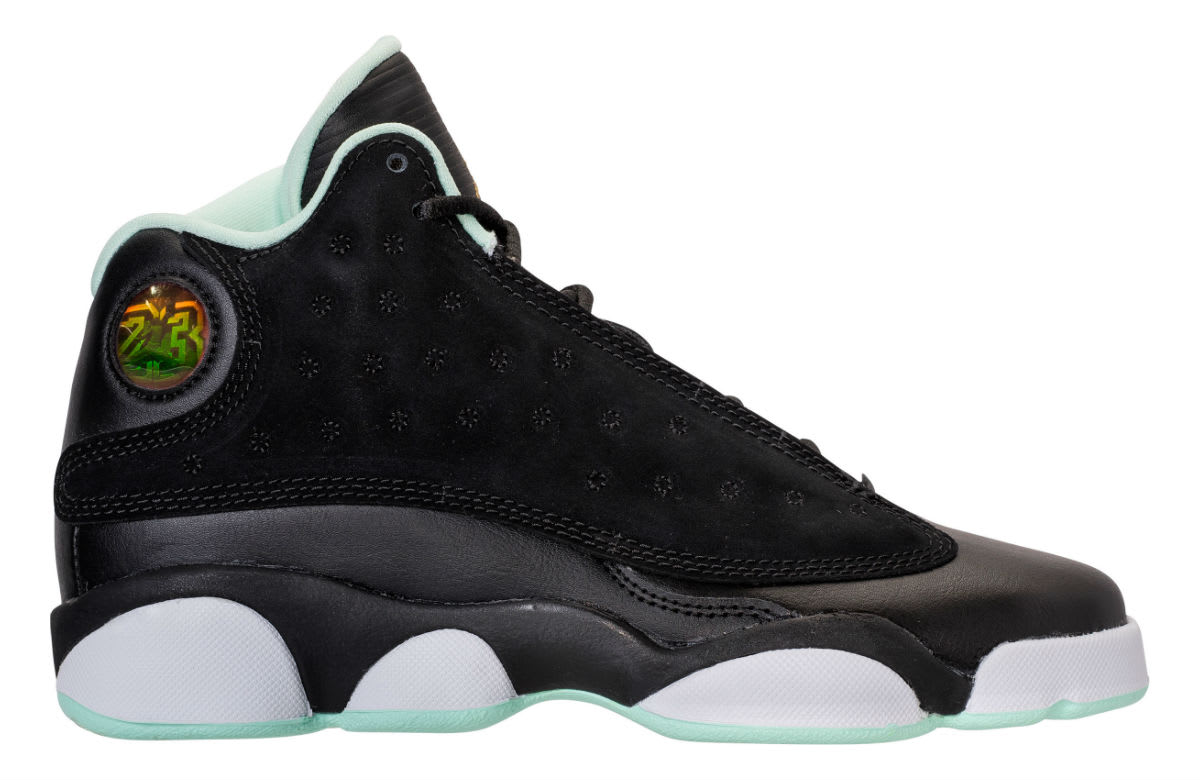 Air Jordan 13 GS Mint Foam Release Date Profile 439358-015