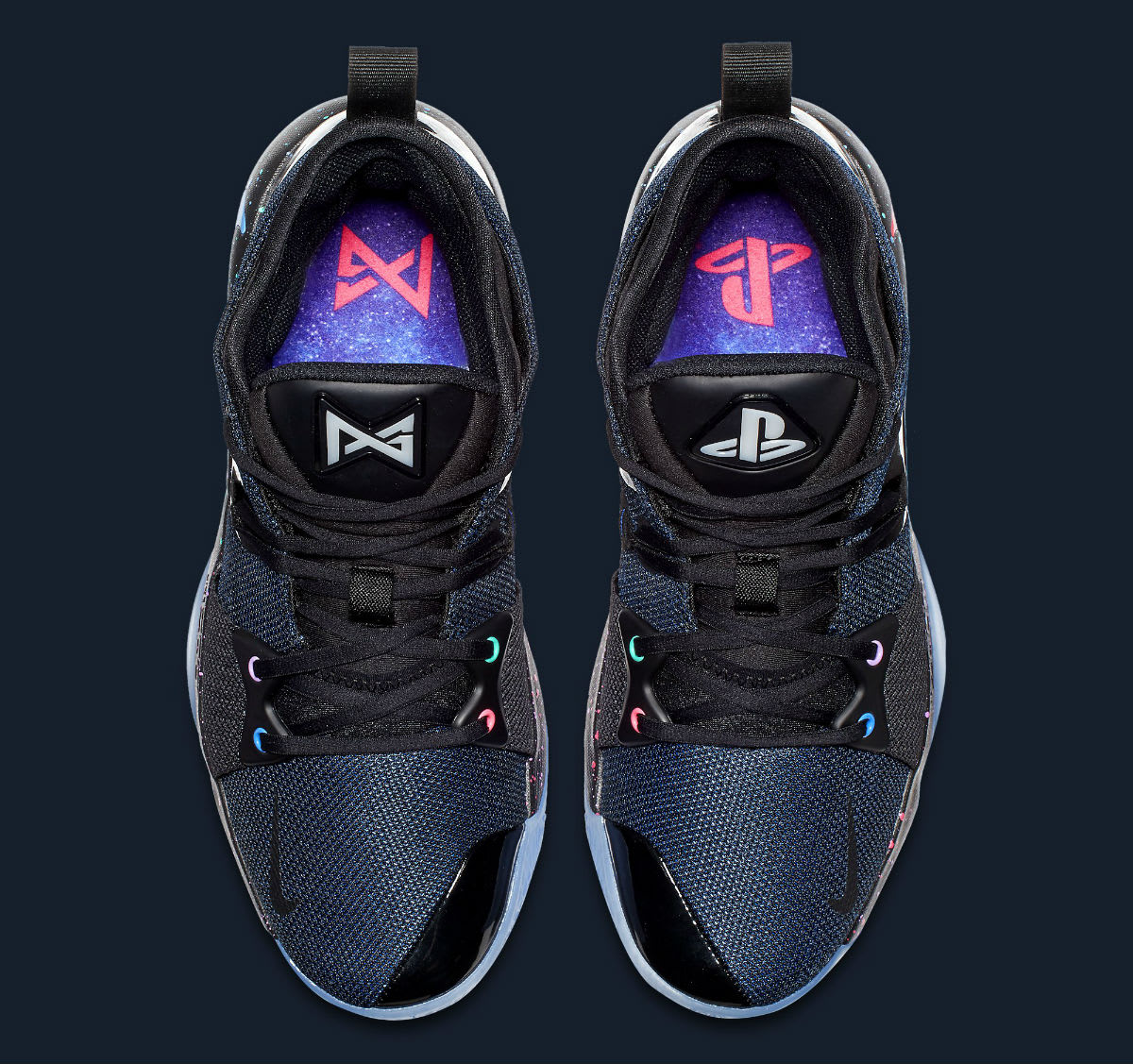 Playstation x Nike PG2 Release Date AT7815-002 Top