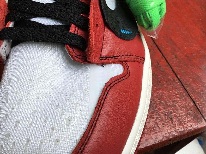 Off-White Air Jordan 1 Release Date Toe AA3834-101