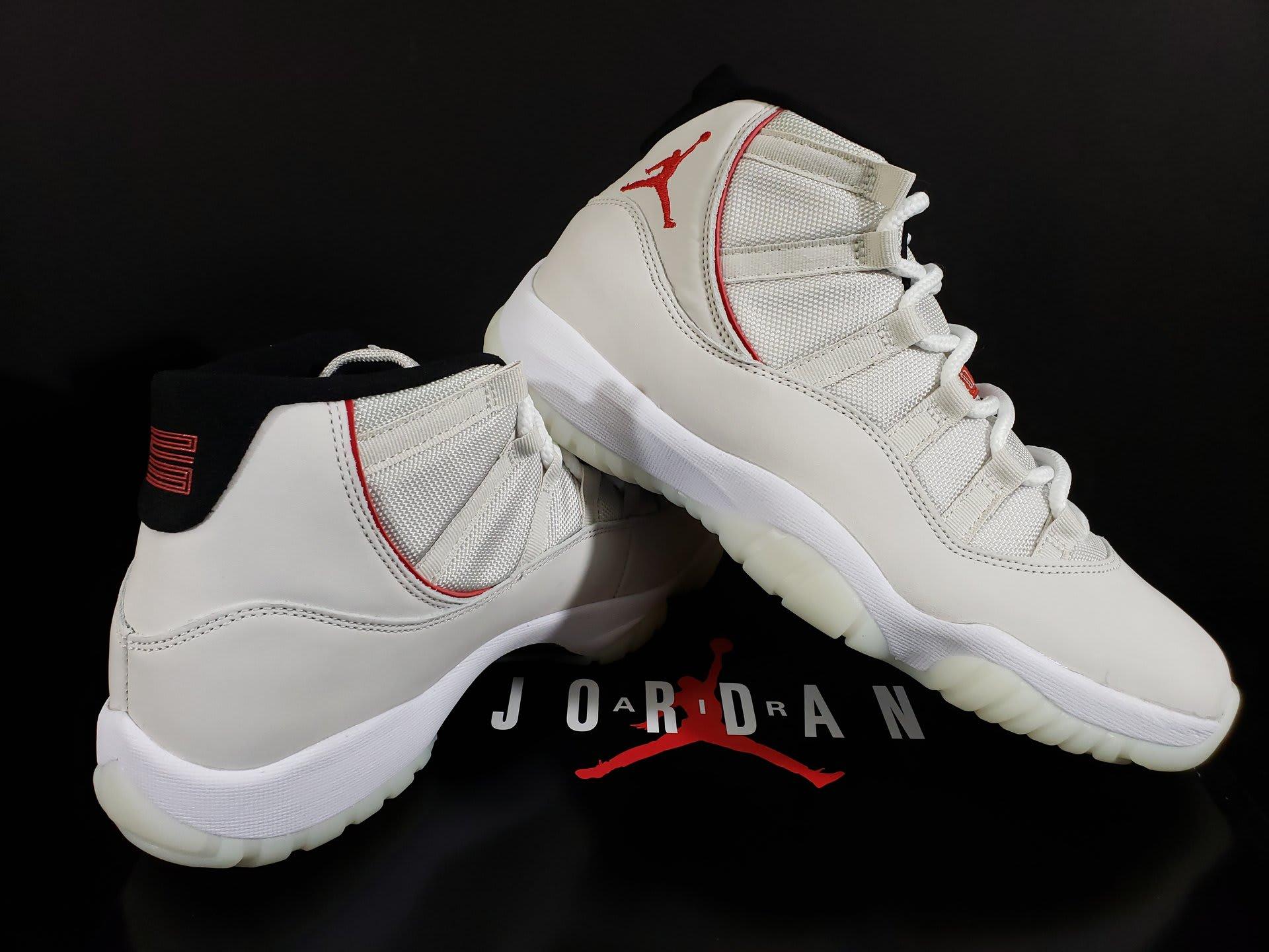 sports shoes 04dfb 0771a ... amazon image via fineline1721 air jordan 11 xi platinum tint release  date 378037 016 right 11588