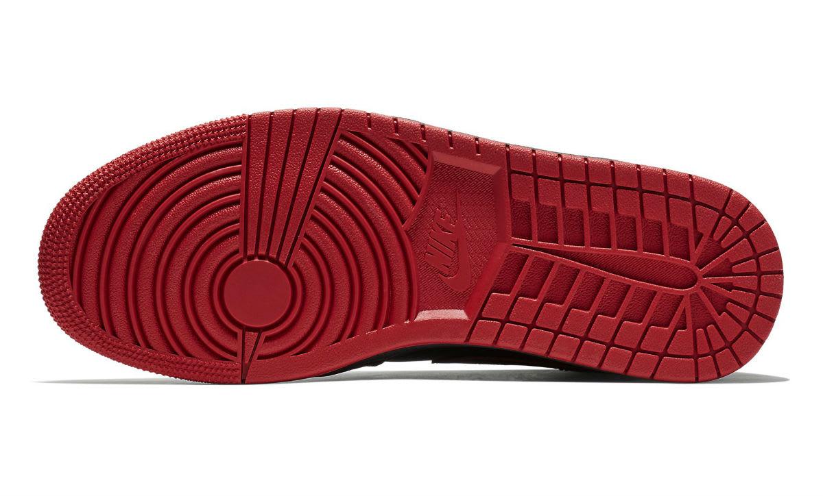 Air Jordan 1 Mid Last Shot Release Date 554724-076 Sole