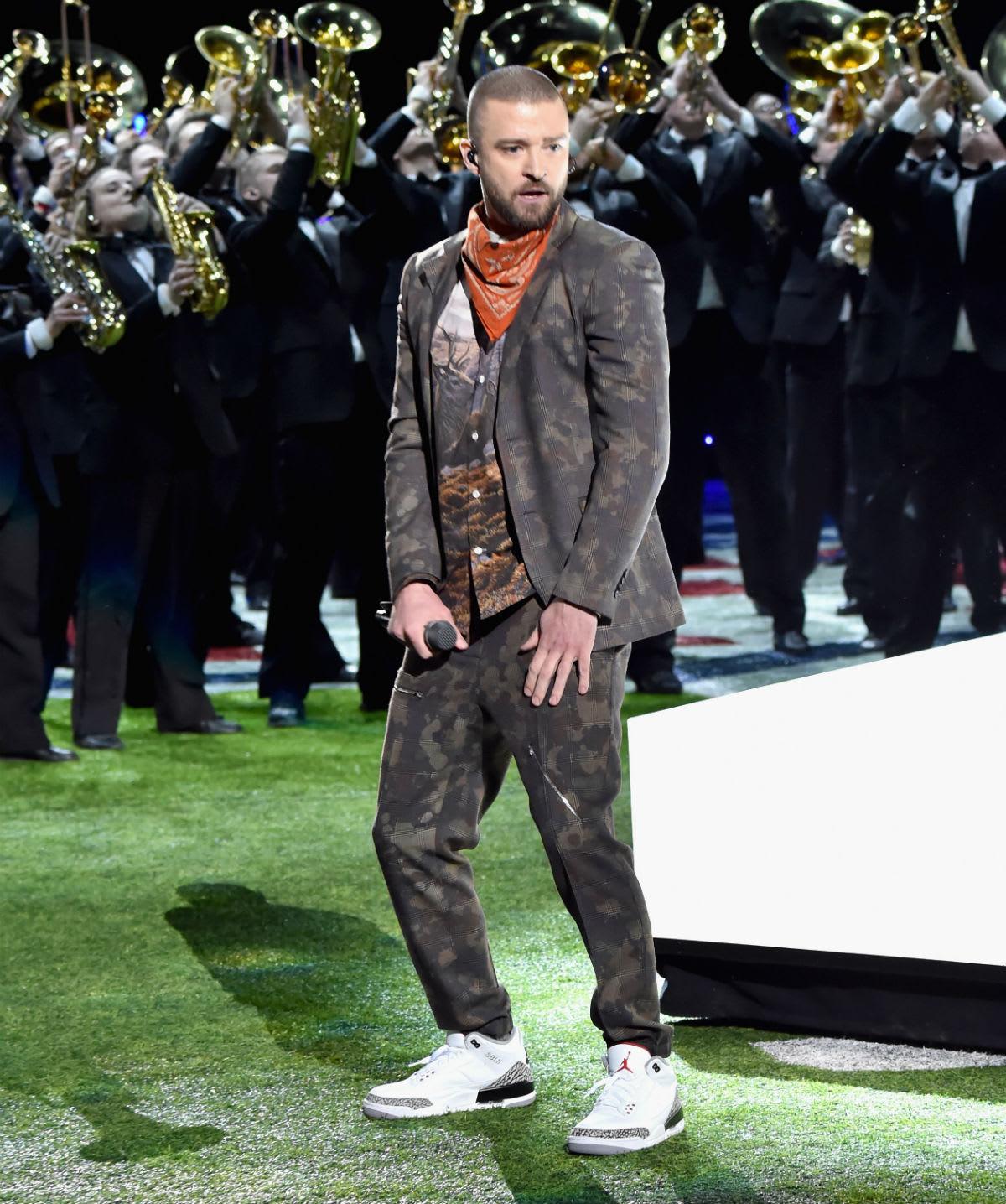 Justin Timberlake Air Jordan 3 III JTH Super Bowl LII