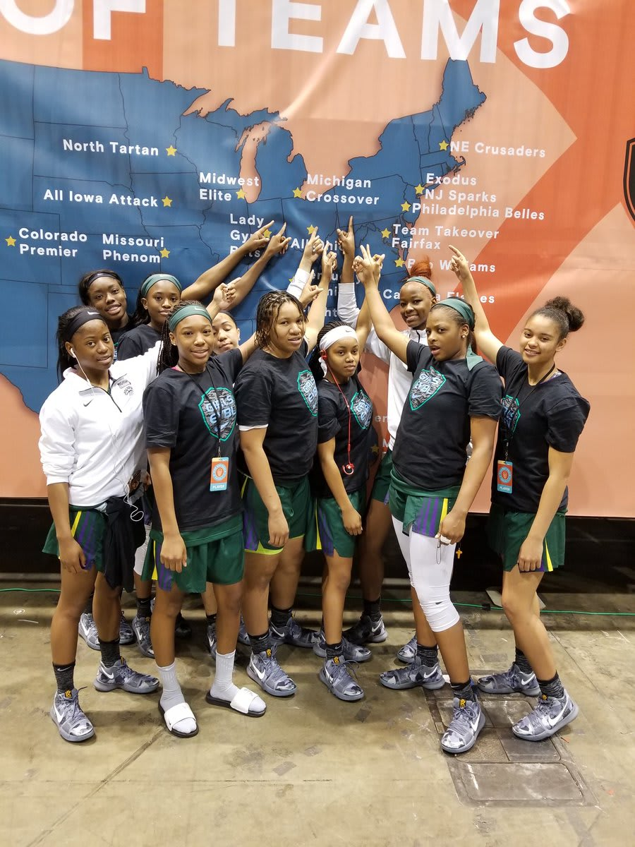 Nike girls eybl