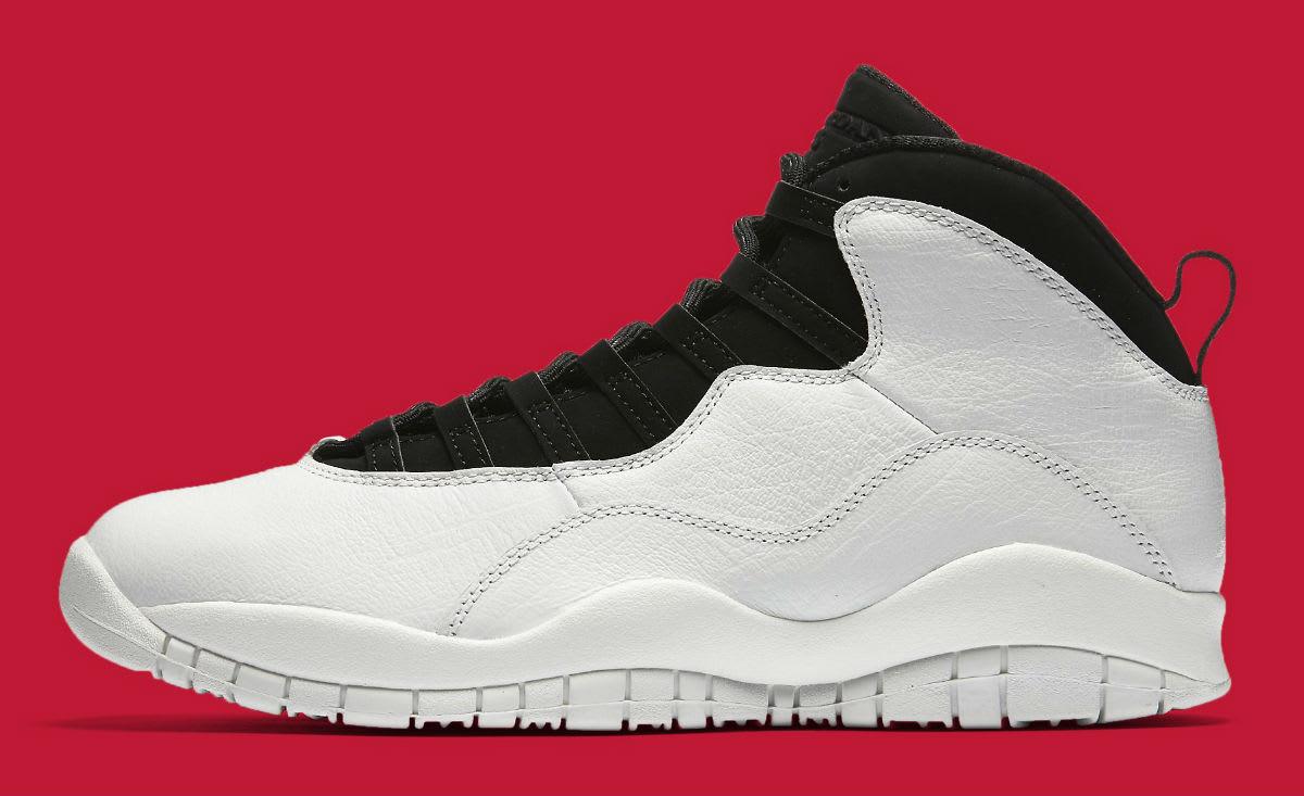 Air Jordan 10 X I'm Back White Black Release date 310805-104 Profile