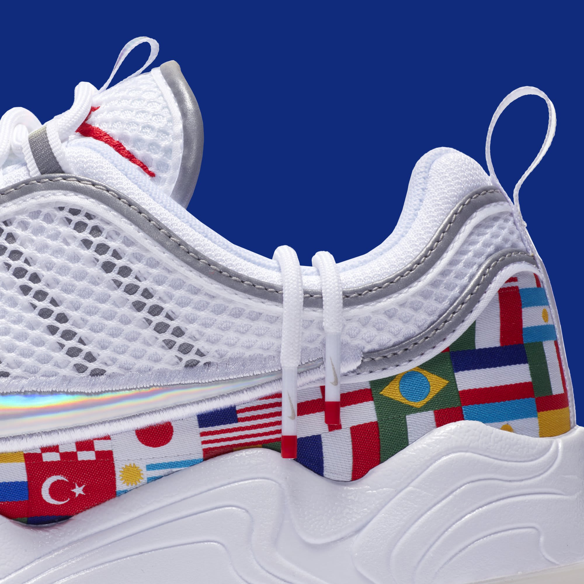 Nike Air Zoom Spiridon 'One World' AO5121-100 (Detail)