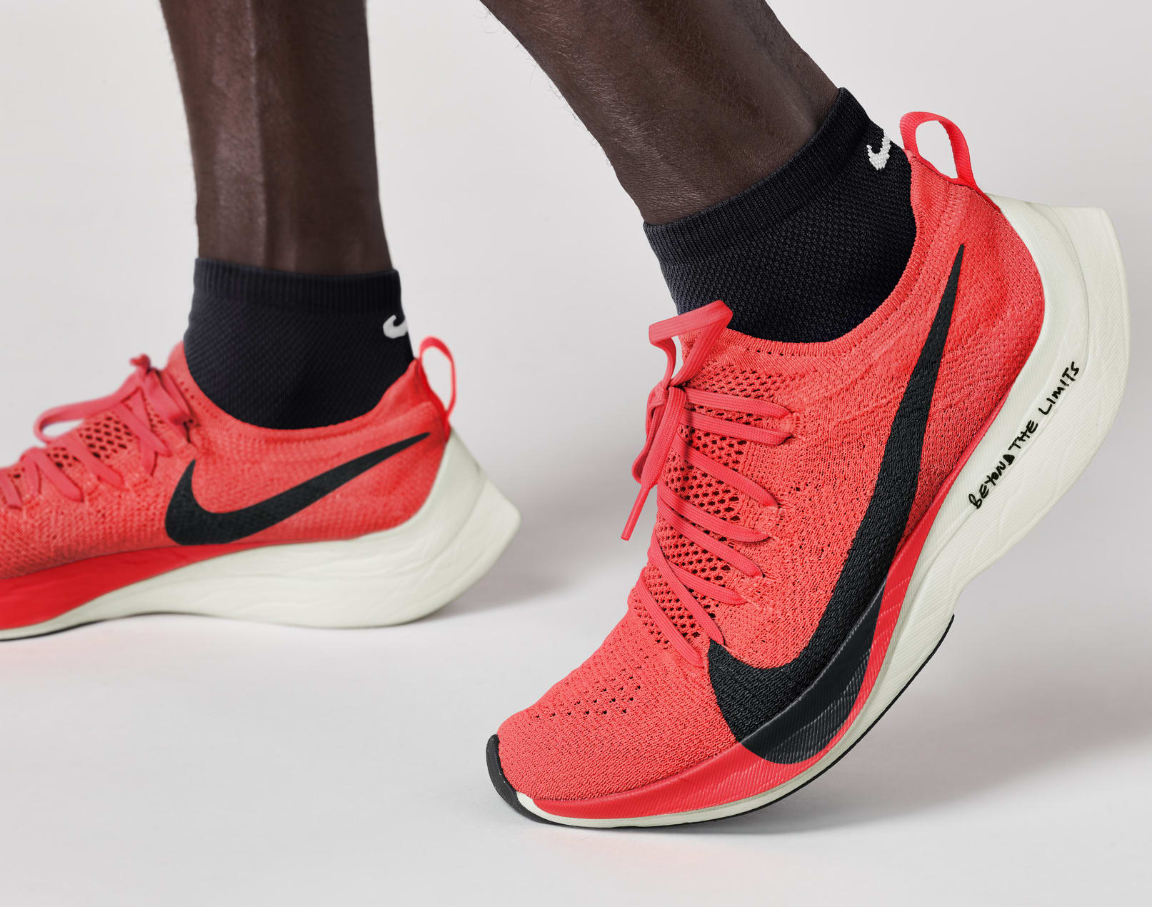 Eliud Kipchoge Wearing Nike Zoom VaporFly Elite