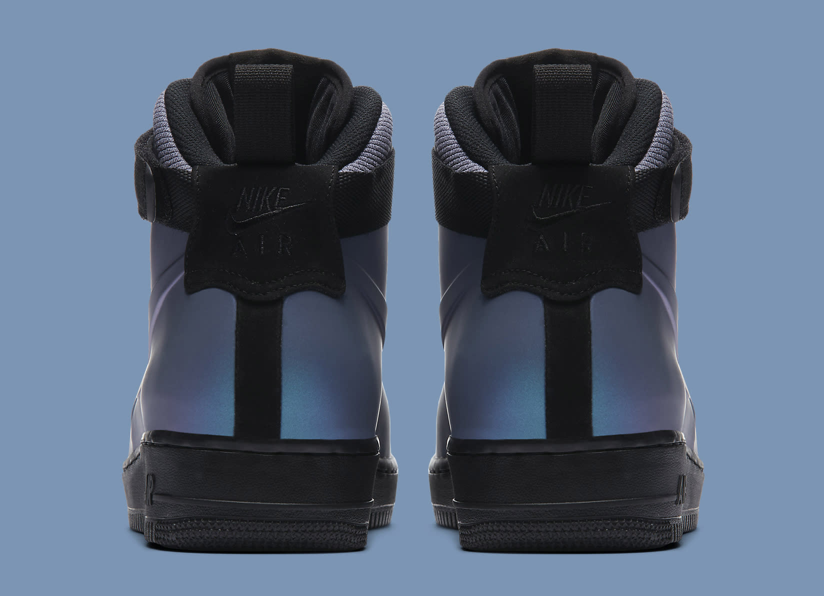 Nike Air Force 1 Foamposite Light Carbon AH6771-002 Heel