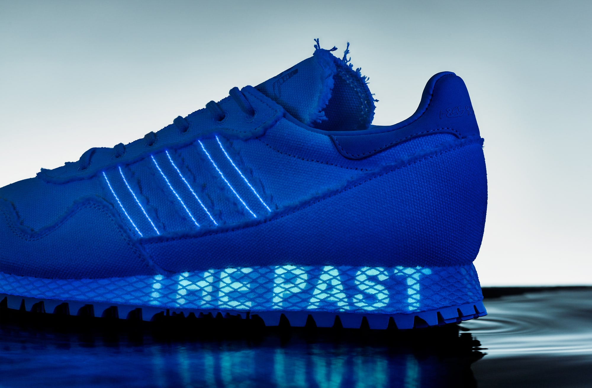 Daniel Arsham Adidas New York Black Light