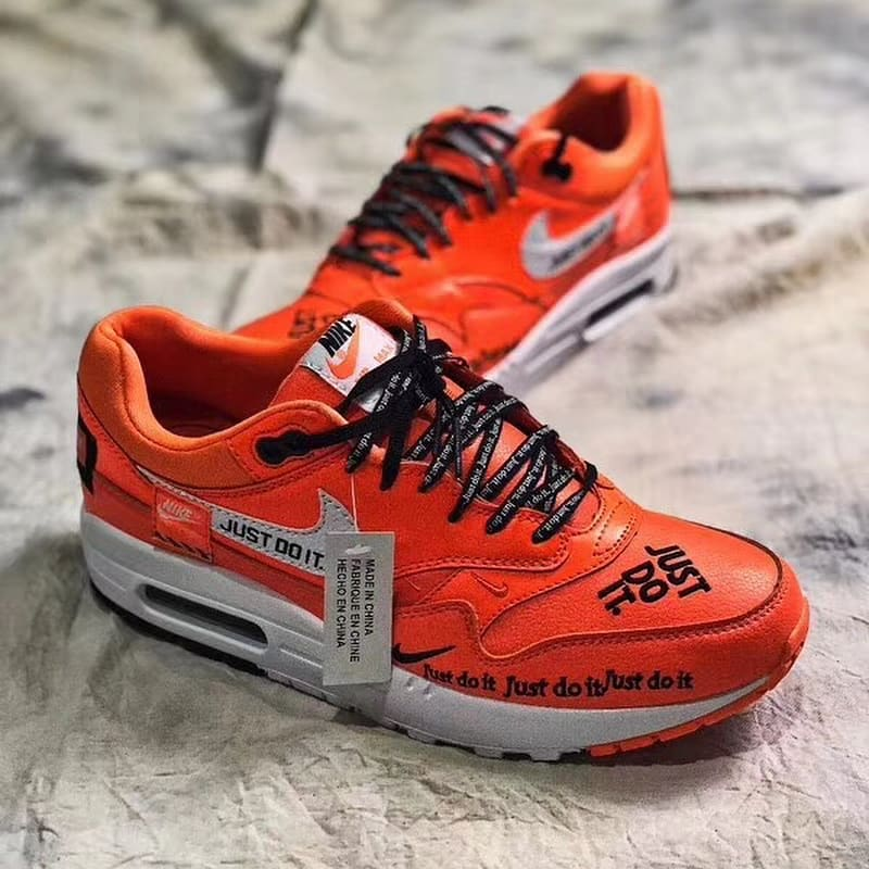 Nike Air Max 1 Just Do It Orange Front