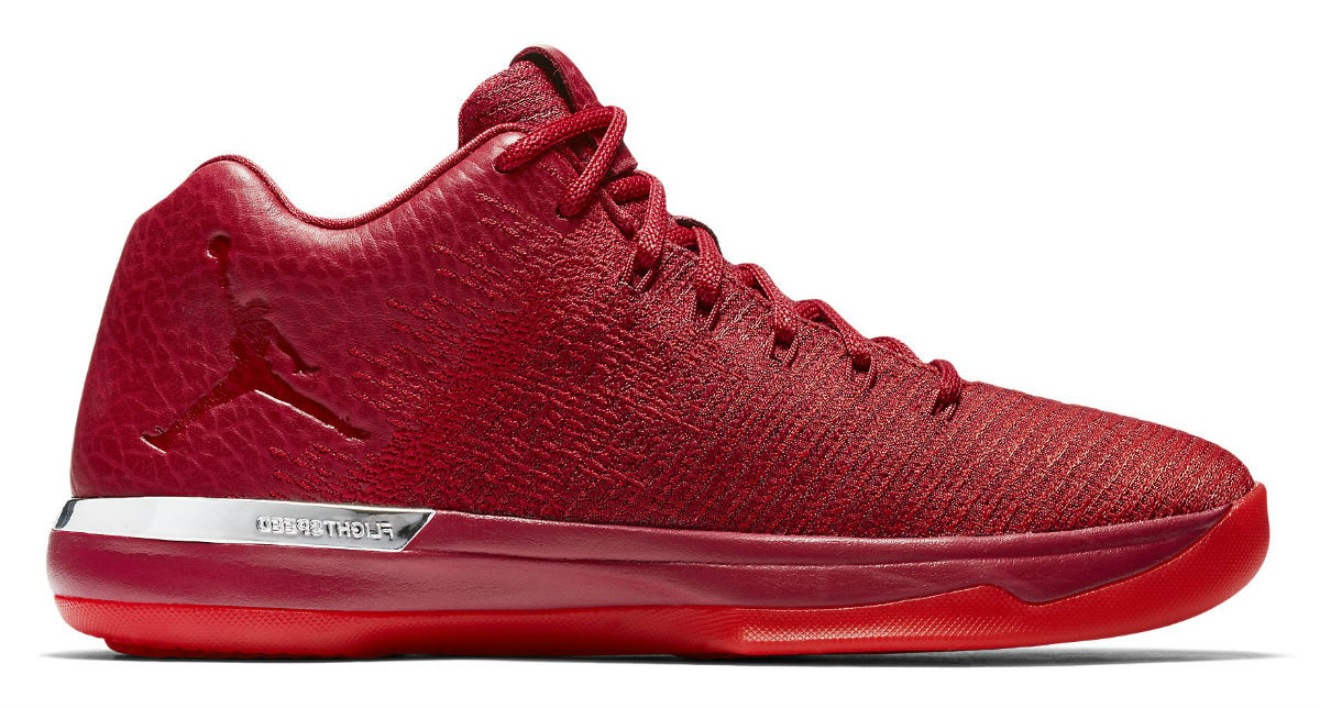 Air Jordan 31 Low Chicago Away Red Release Date Profile 897564-601