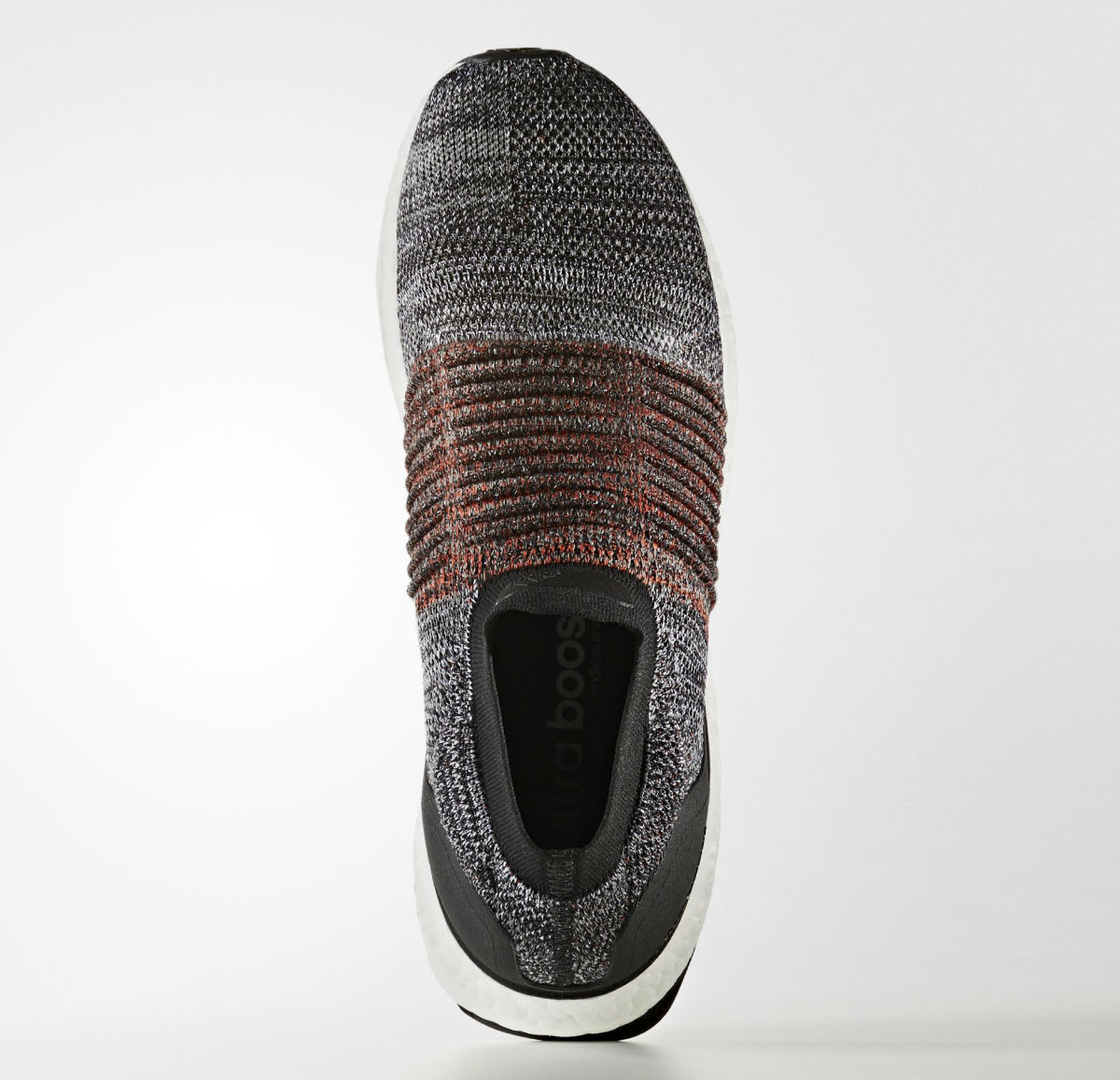 Adidas Ultra Boost Laceless Black White Orange Release Date Top S80769