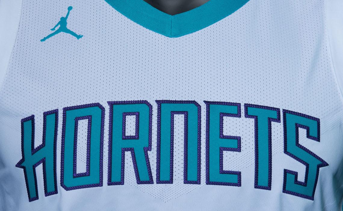 Jordan Hornets Jersey Home Association Chest