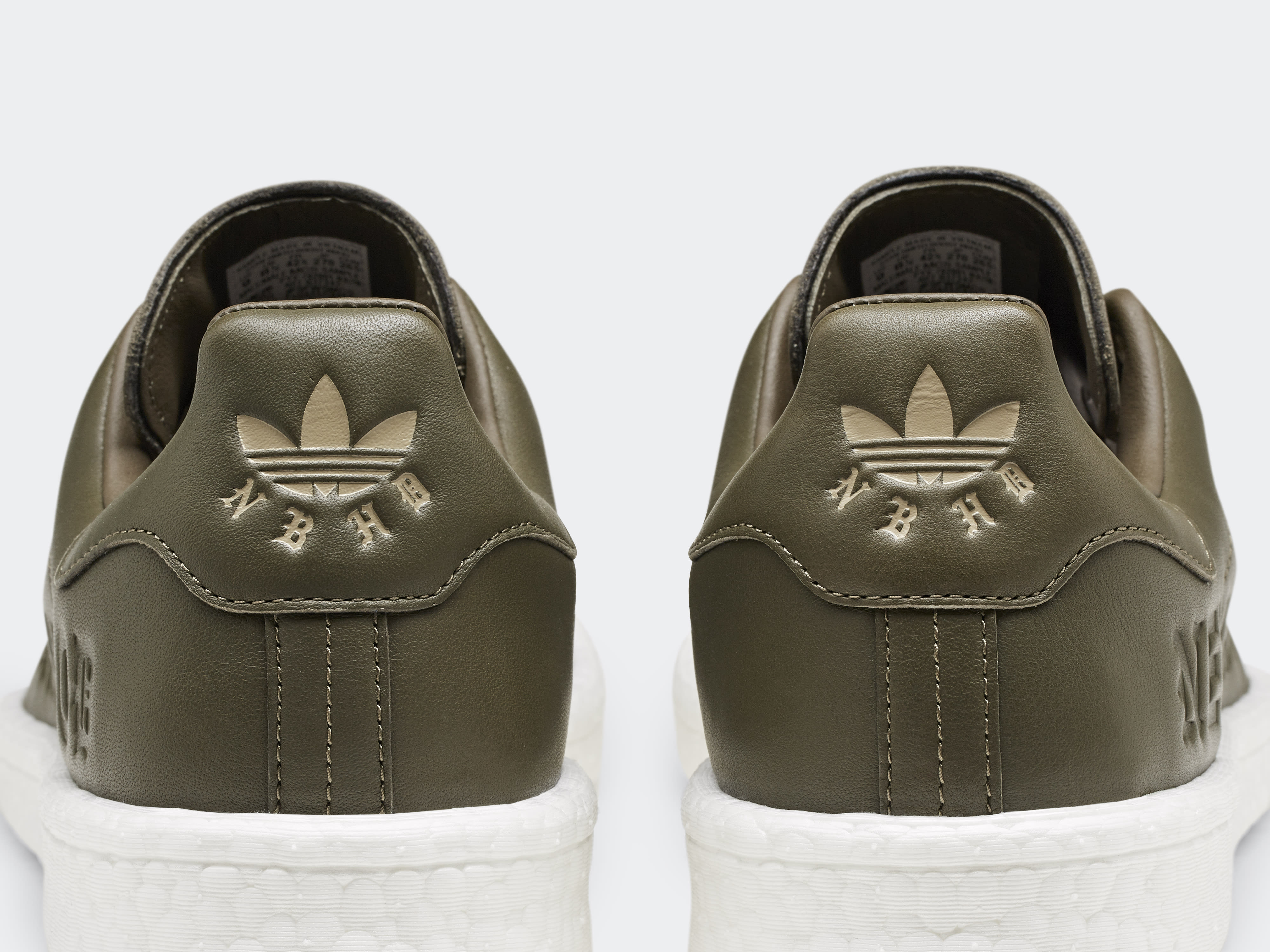 Neighborhood x Adidas Stan Smith Boost B37342 (Heel)