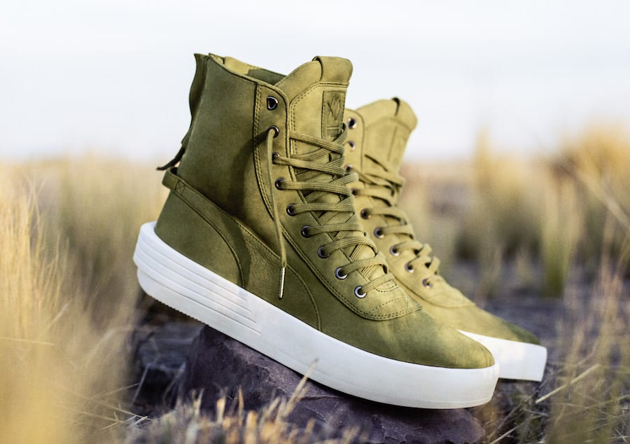 The Weeknd x Puma Parallel Green Release Date Side