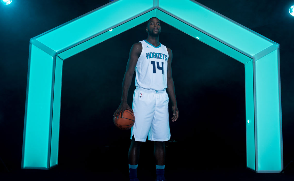 The Hornets Unveiled Their First Two Official Jordan Brand Uniforms