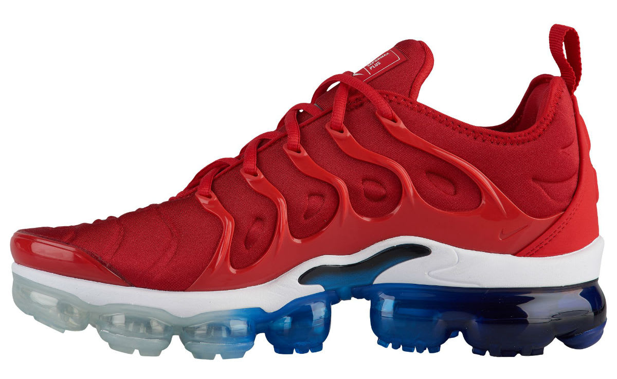 Nike Air VaporMax Plus USA Red White Blue Release Date 924453-601 Medial