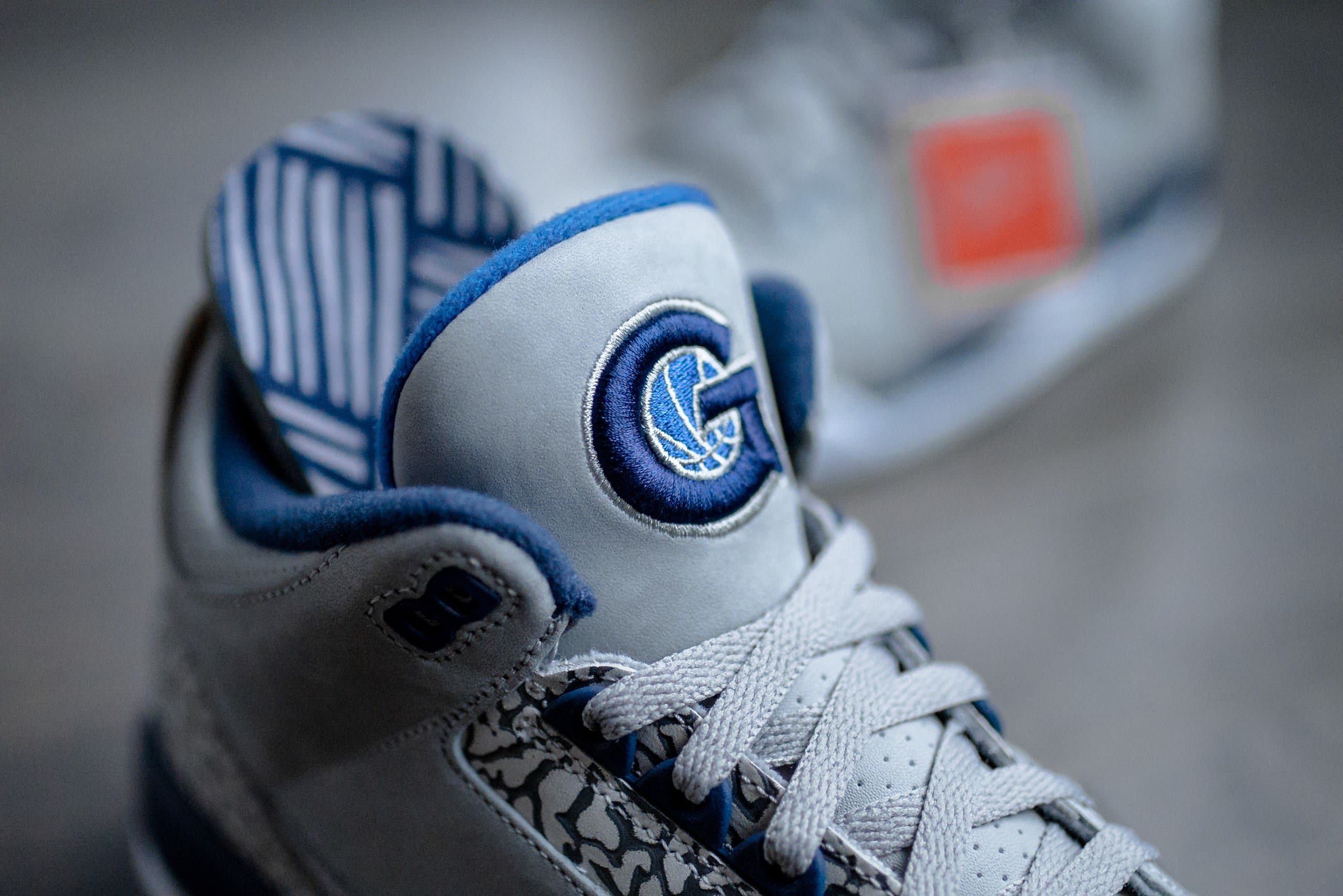 Air Jordan 3 'Georgetown' (Tongue and Insole)
