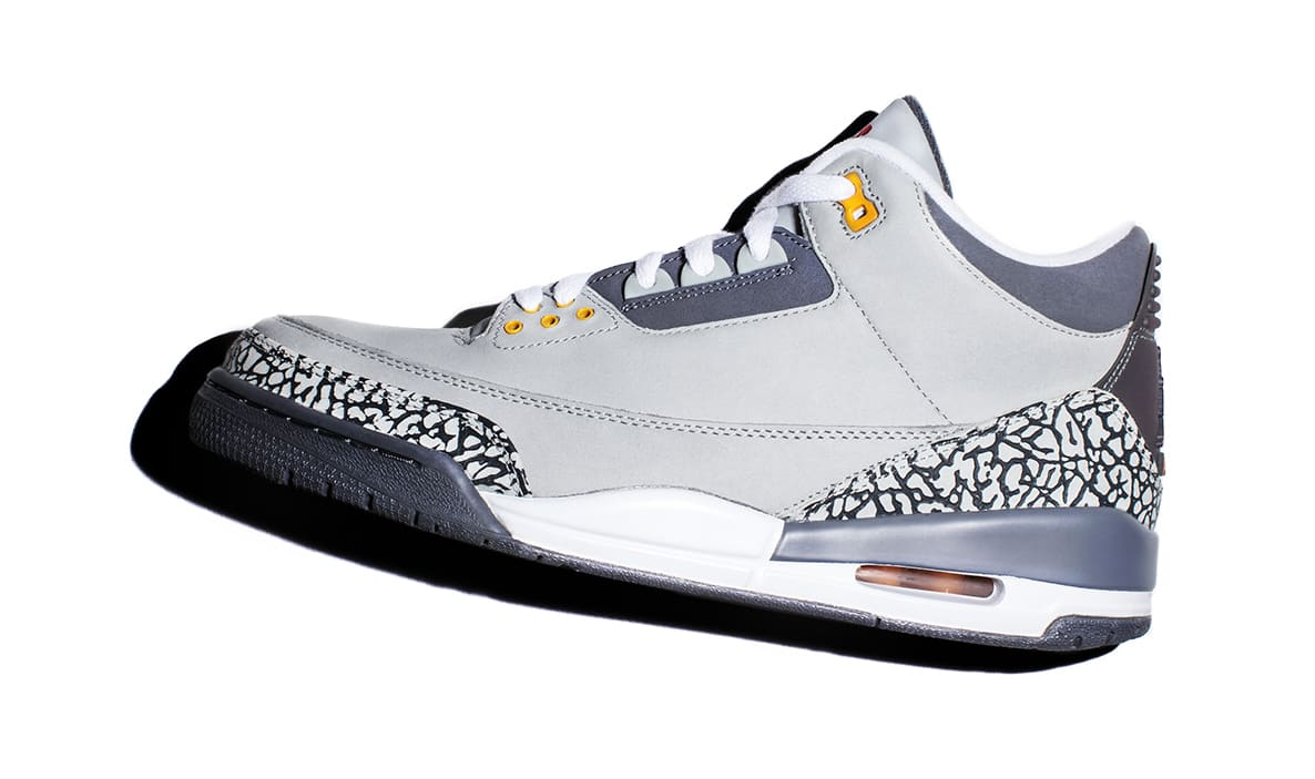 Cool Grey Air Jordan 3