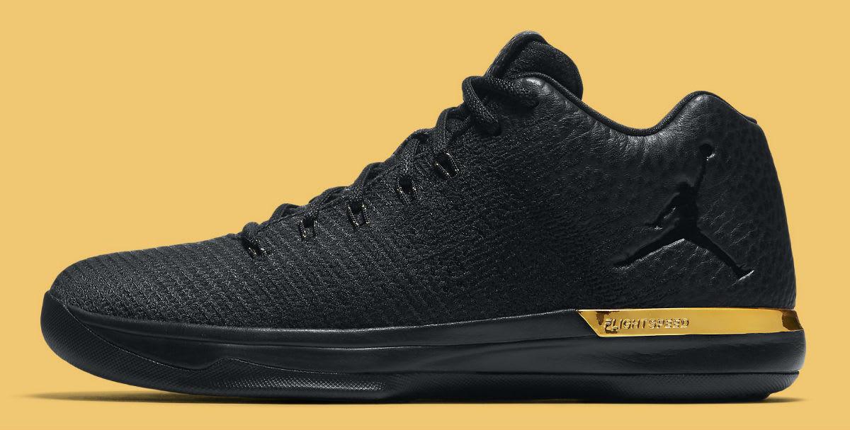 Air Jordan 31 Low Black Gold Release Date 897564 023