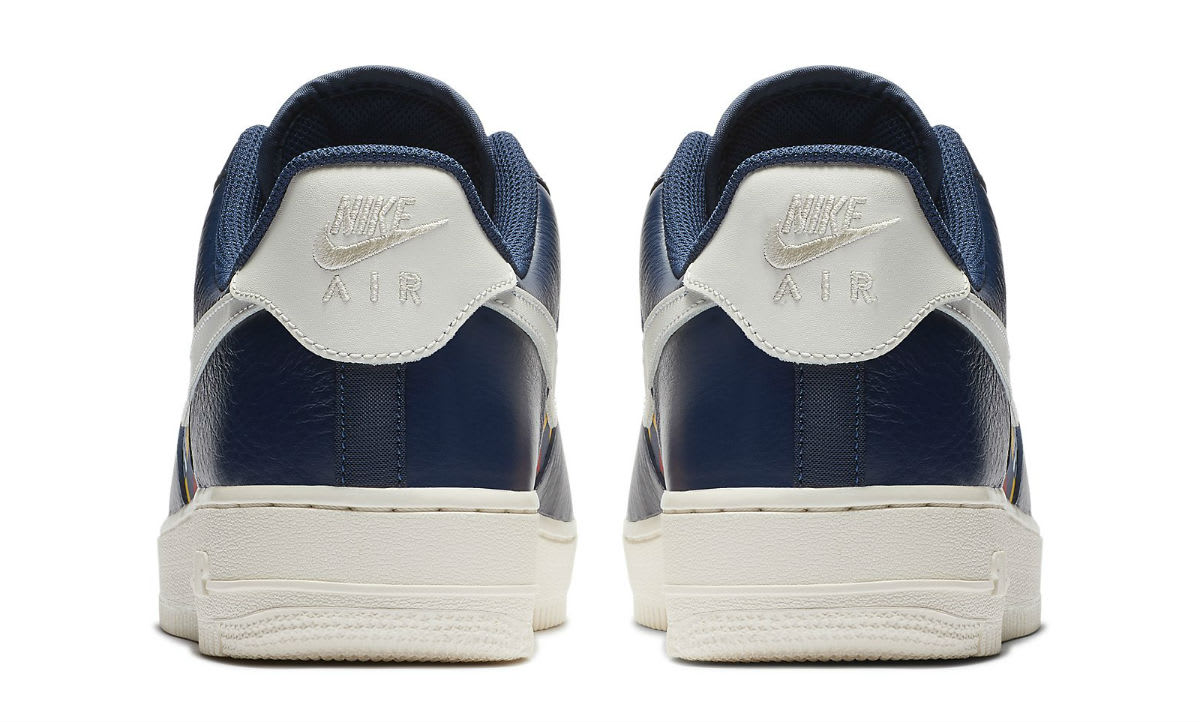 Nike Air Force 1 Low Nautical Redux Pack Release Date AR5394-400 Heel