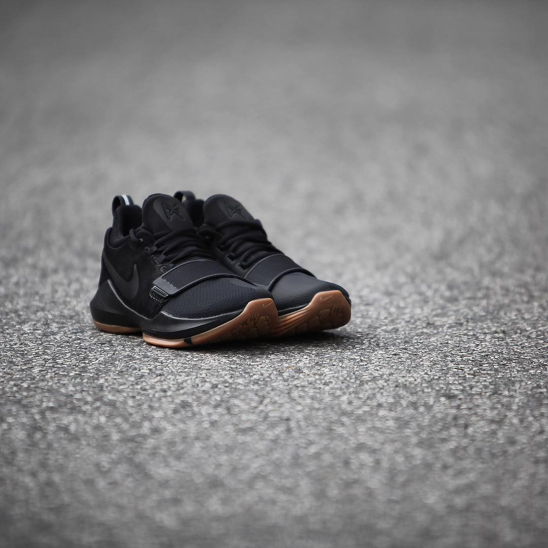 Nike Pg1 Black Anthracite Cool Grey Release Date 878627 004