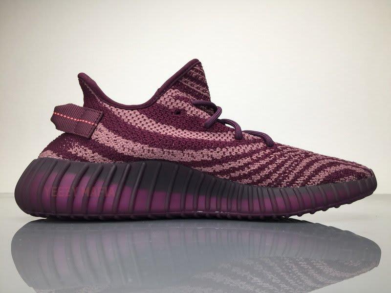 Adidas Yeezy Boost 350 V2 Red Night Chalk Medial