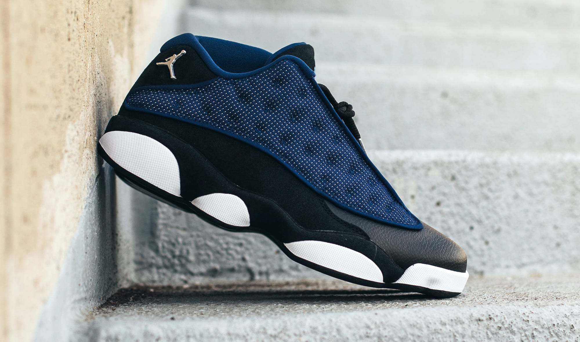 Brave Blue Air Jordan 13 Low 310810-407 Pair