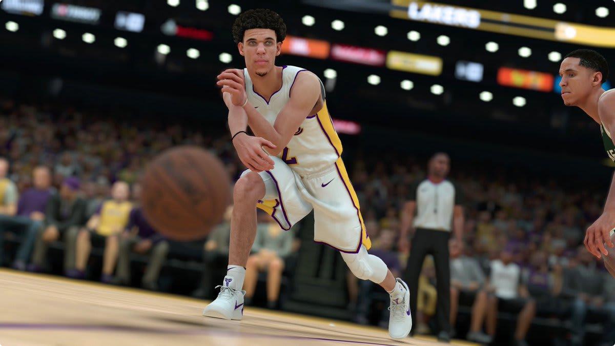 Lonzo Ball NBA 2K18 Nikes