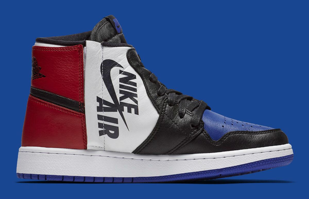 Air Jordan 1 Rebel XX Top 3 Release Date AT4151-001 Medial