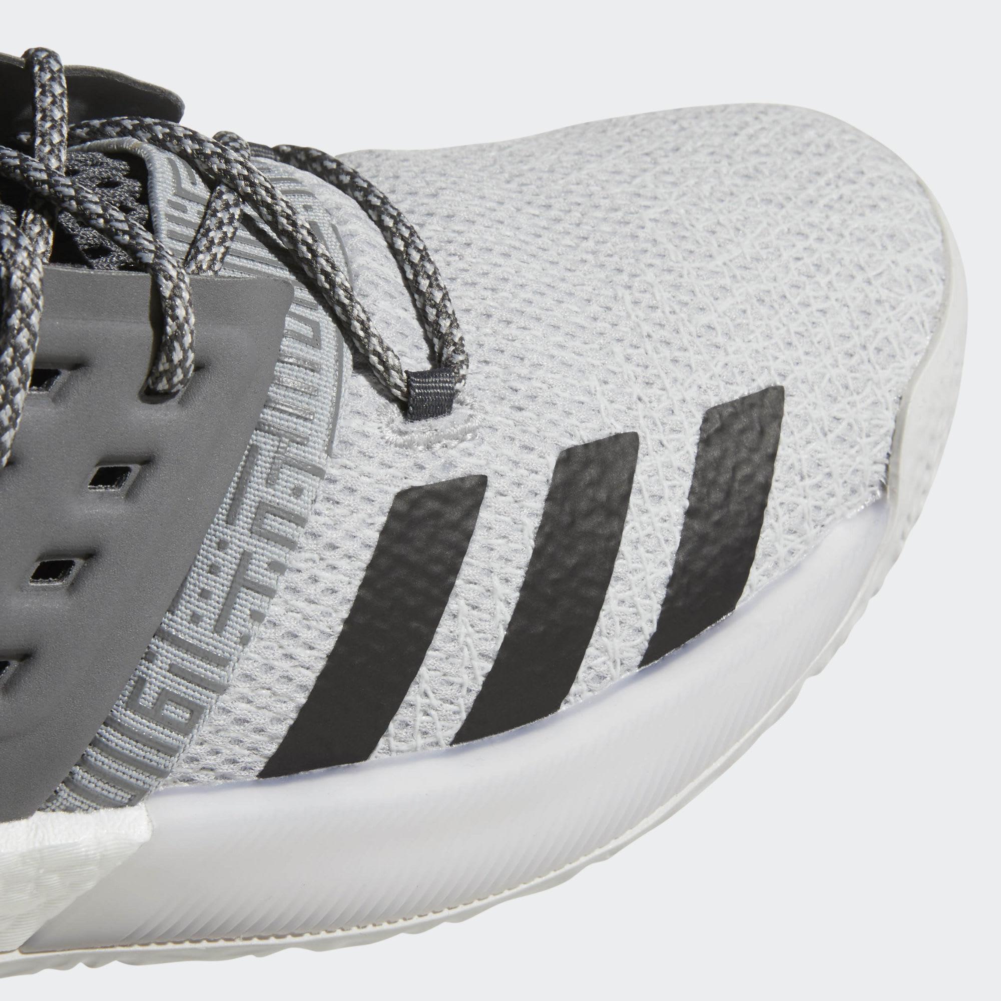 Adidas Harden Vol. 2 Concrete Grey Release Date AH2122 Toe