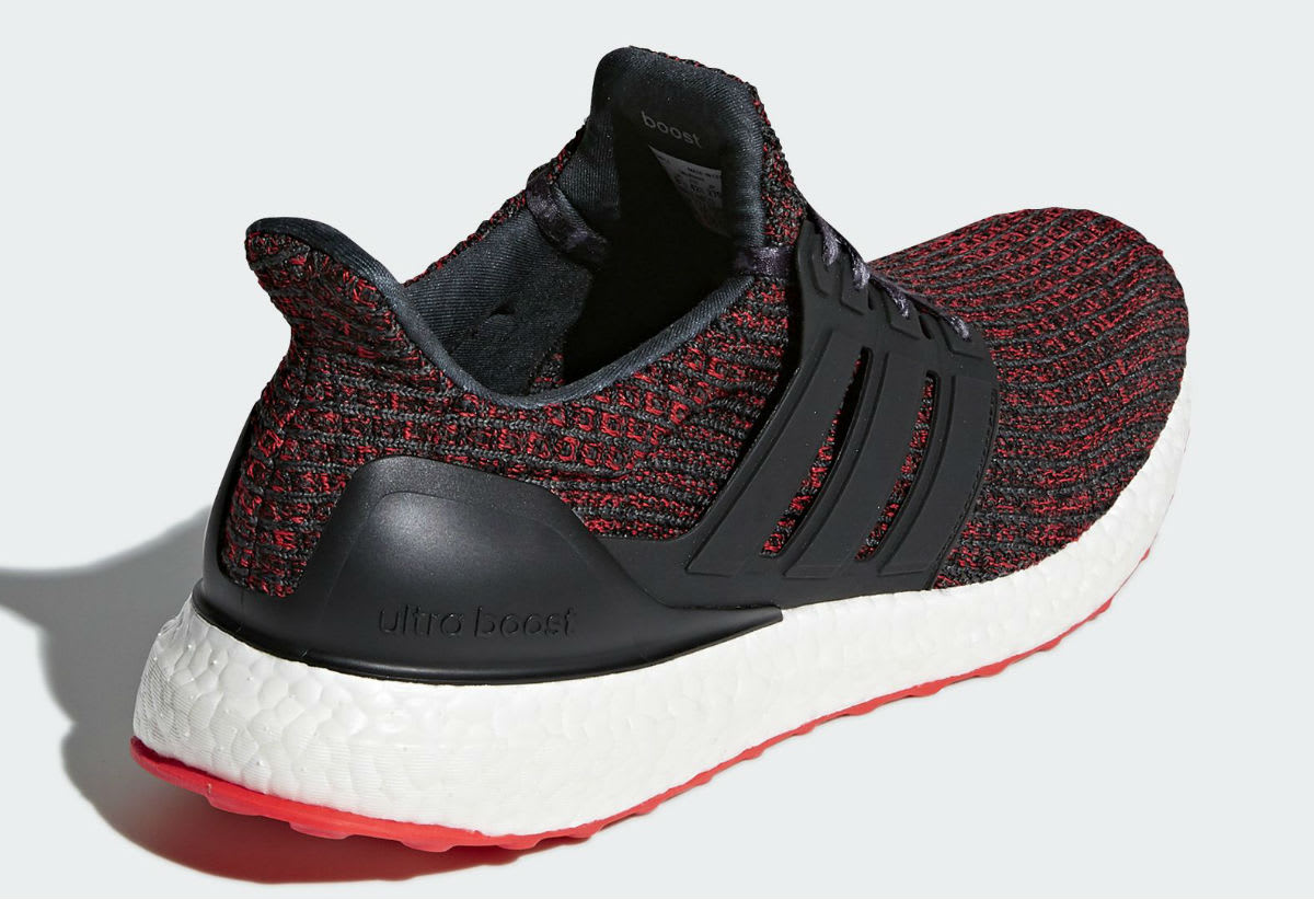 Adidas Ultra Boost 4.0 Chinese New Year Release Date BB6173 Heel